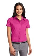 Picture of Ladies' Short Sleeve Easy Care Shirt. L508
