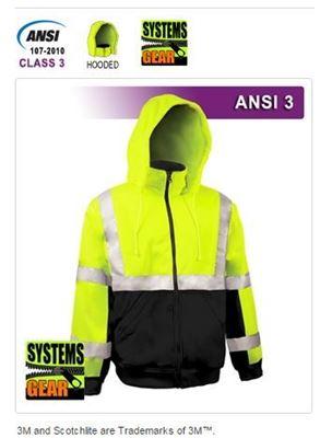 Picture of VEA Safety Sweatshirt - VEA 602