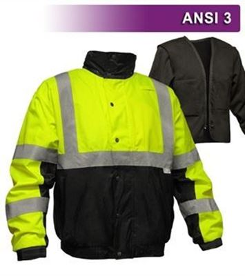 Picture of Safety Bomber Jacket VEA-412