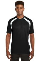 Picture of Sport-Tek® Dry Zone® Colorblock Crew. T478
