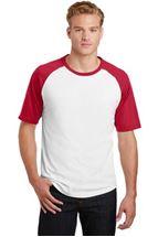 Picture of Sport-Tek® Short Sleeve Colorblock Raglan Jersey. T201