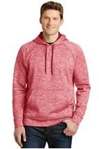 Picture of Sport-Tek® PosiCharge® Electric Heather Fleece Hooded Pullover. ST225