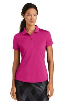 Picture of Nike Golf Ladies Dri-FIT Players Modern Fit Polo. 811807.