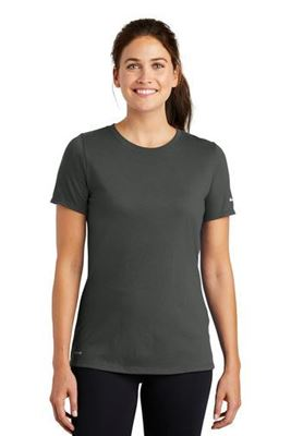 Picture of Nike Ladies Dri-FIT Cotton/Poly Scoop Neck Tee. NKBQ5234
