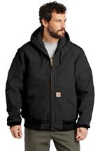 Picture of Carhartt ® Tall Quilted-Flannel-Lined Duck Active Jac. CTTSJ140