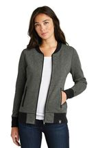 Picture of New Era® Ladies French Terry Baseball Full-Zip. LNEA503