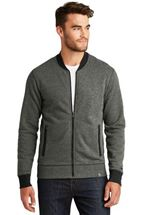 Picture of New Era® French Terry Baseball Full-Zip. NEA503